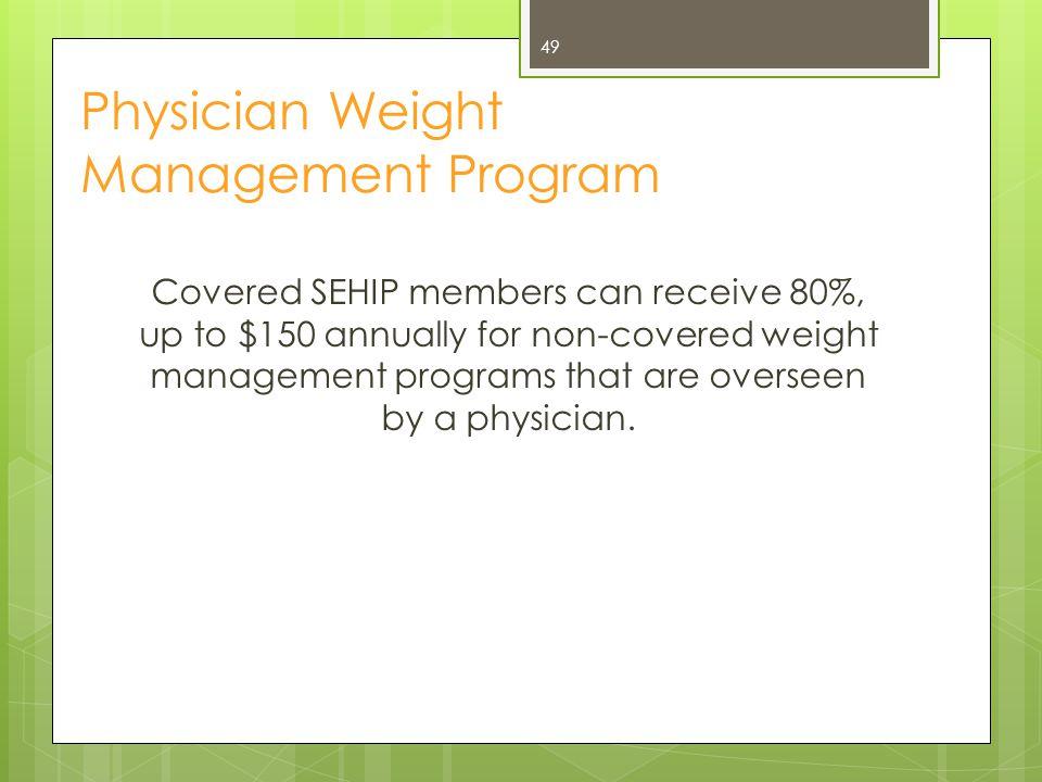 Physician Weight Management Program