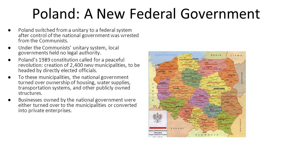 Poland: A New Federal Government