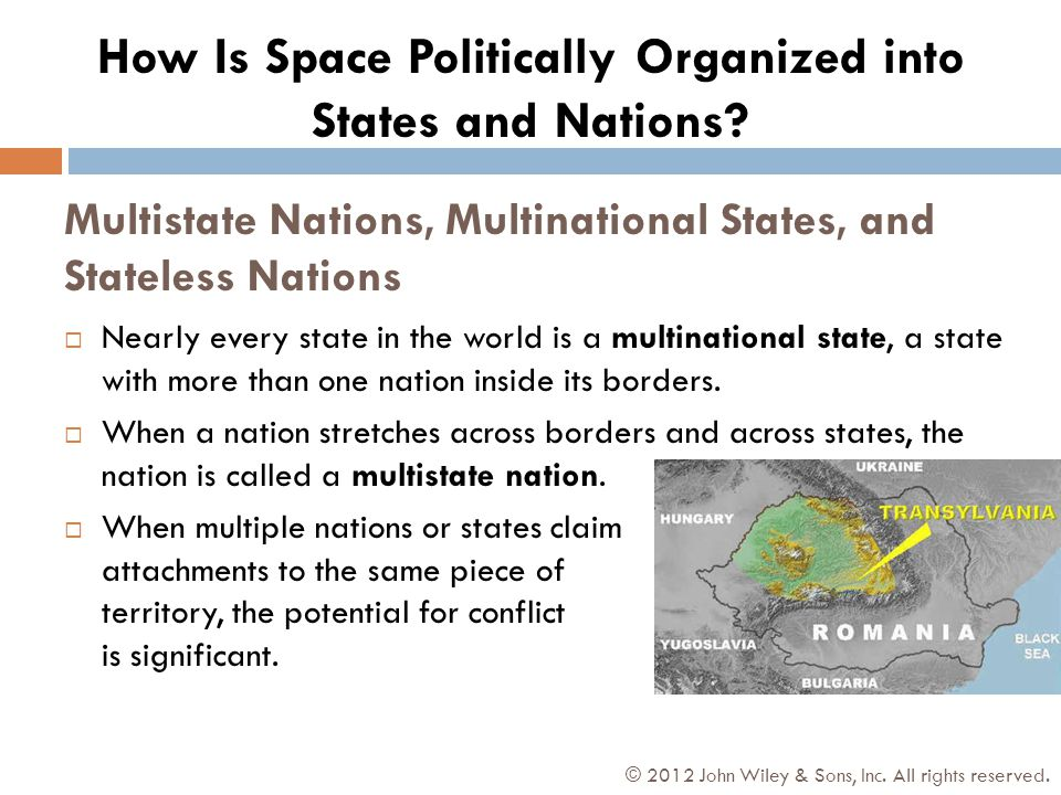 Multistate Nations, Multinational States, and Stateless Nations