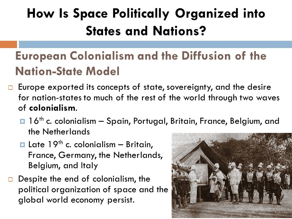 European Colonialism and the Diffusion of the Nation-State Model