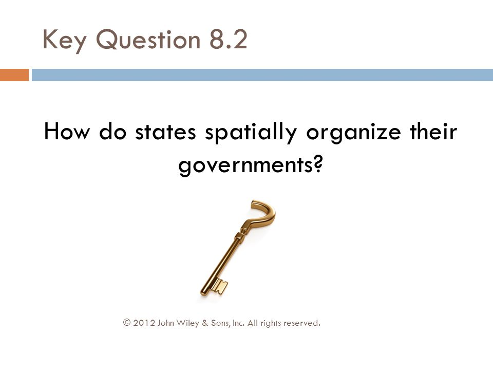 How do states spatially organize their governments