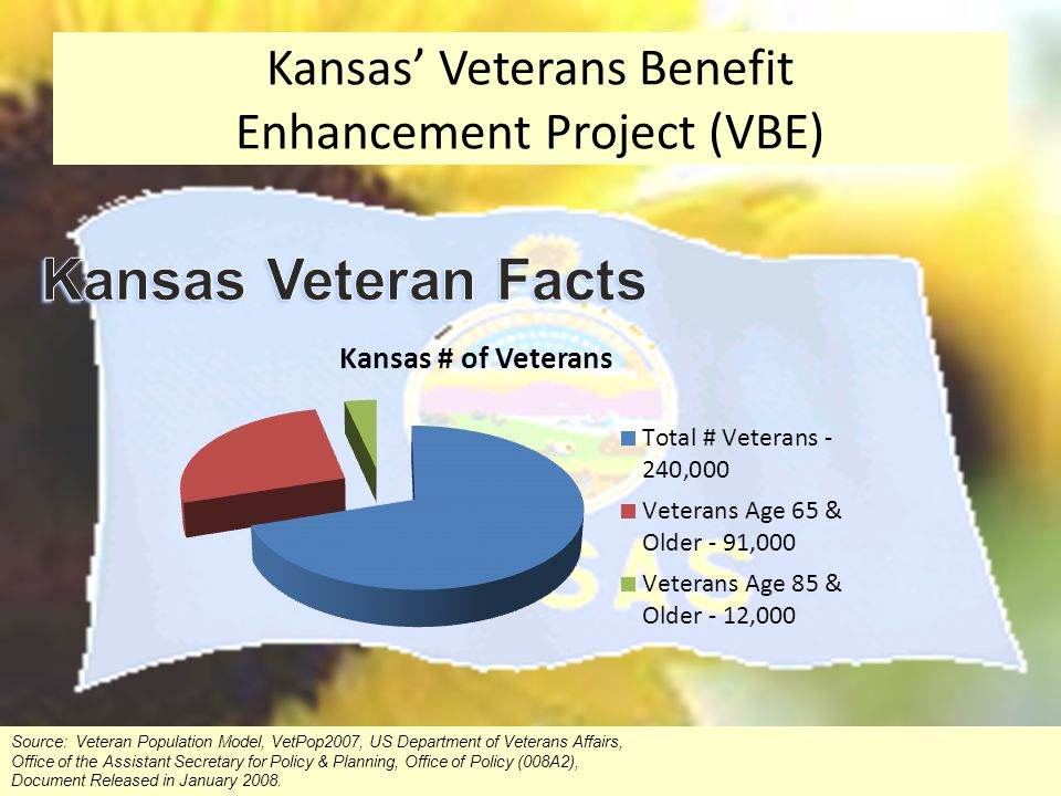 Kansas' Veterans Benefit Enhancement Project (VBE)