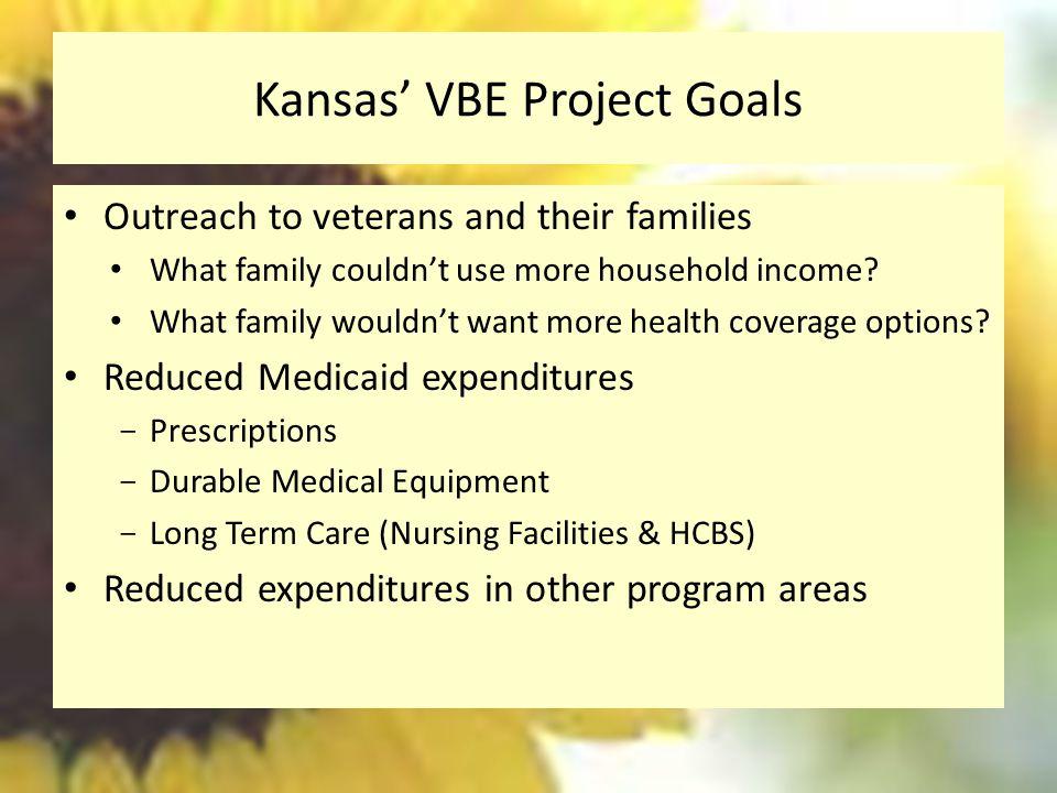 Kansas' VBE Project Goals