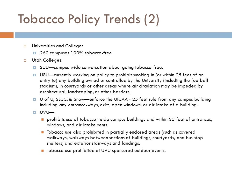 Tobacco Policy Trends (2)