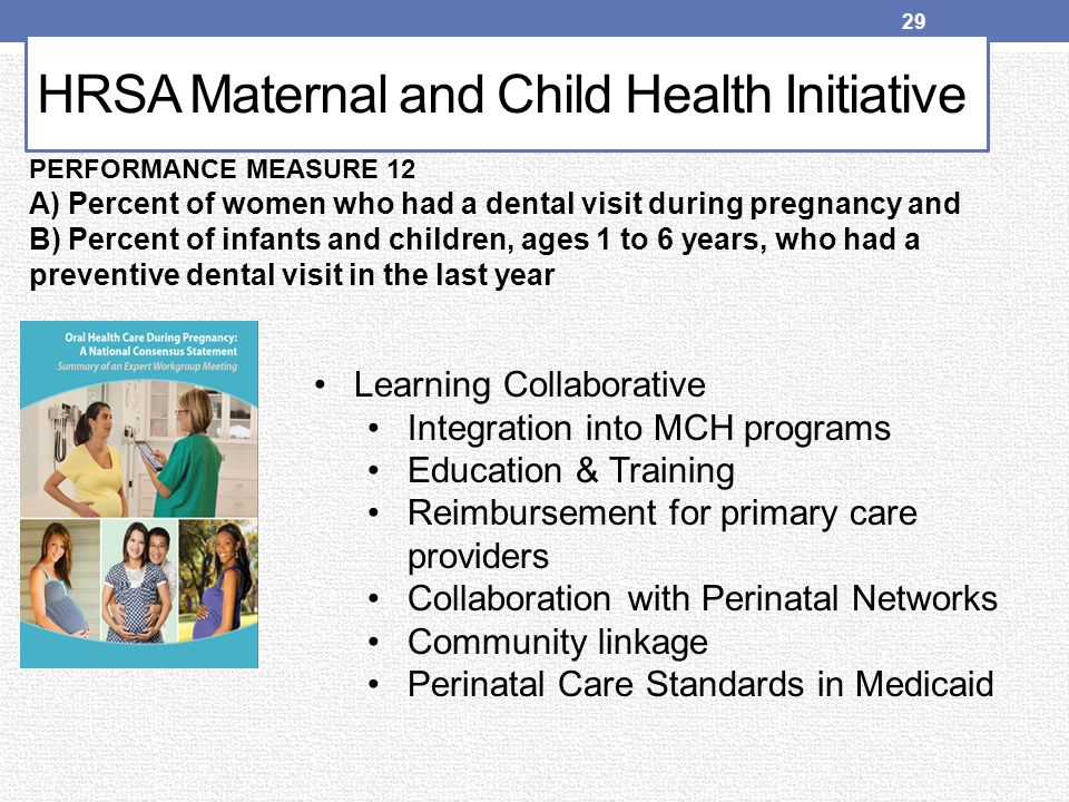 HRSA Maternal and Child Health Initiative