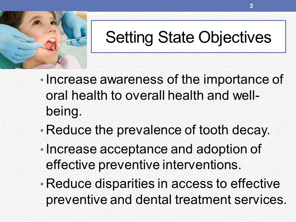 Setting State Objectives