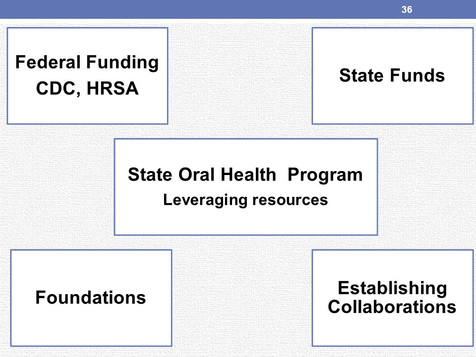 State Oral Health Program Establishing Collaborations