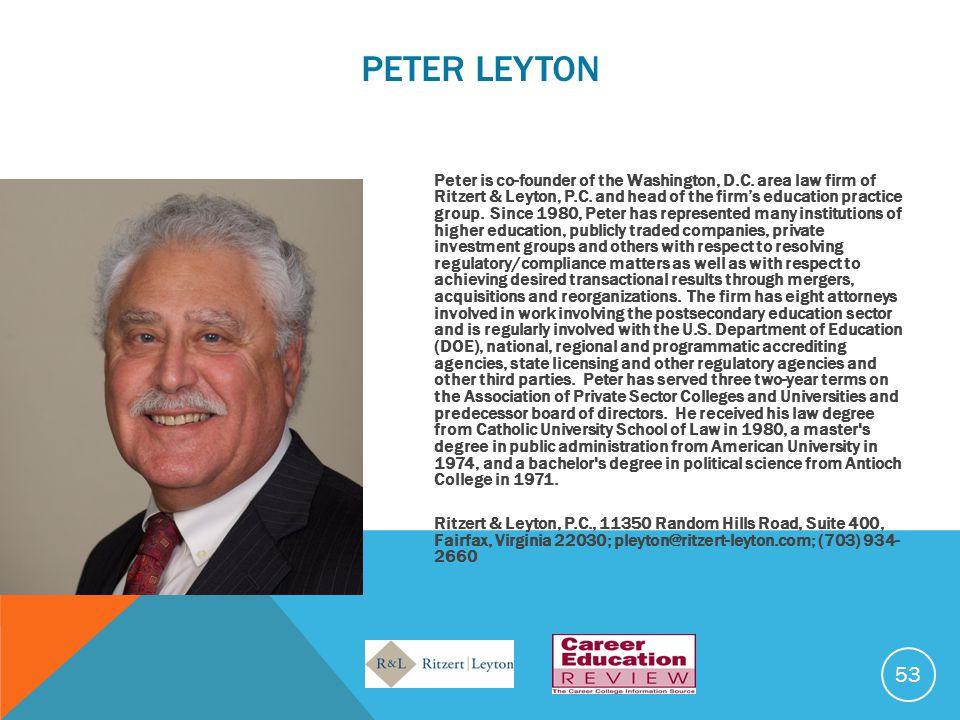 Peter LEYTON