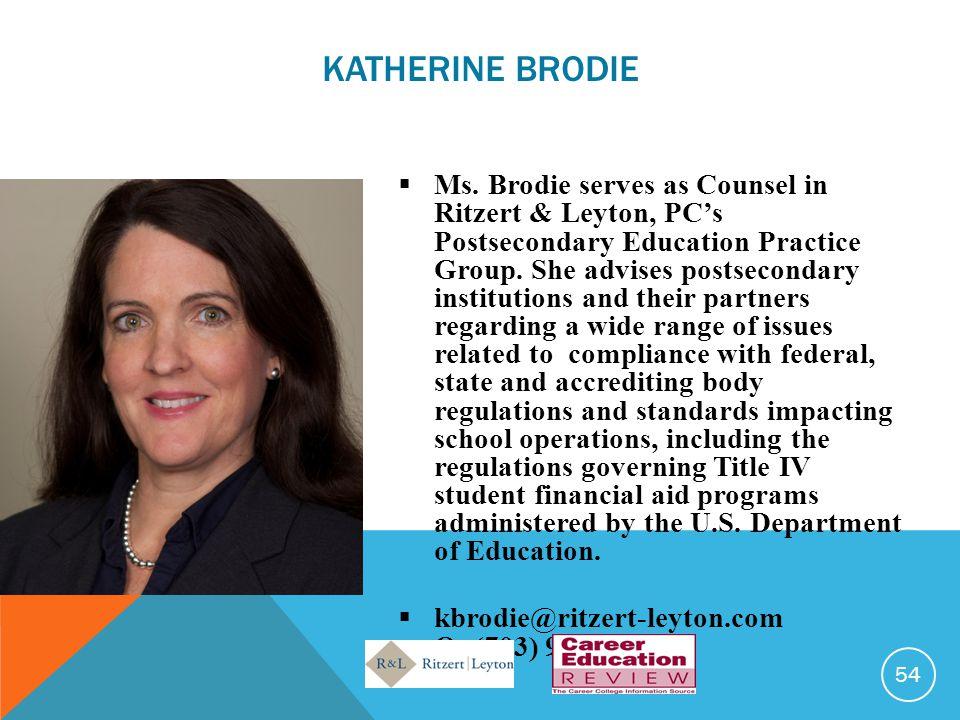 Katherine Brodie