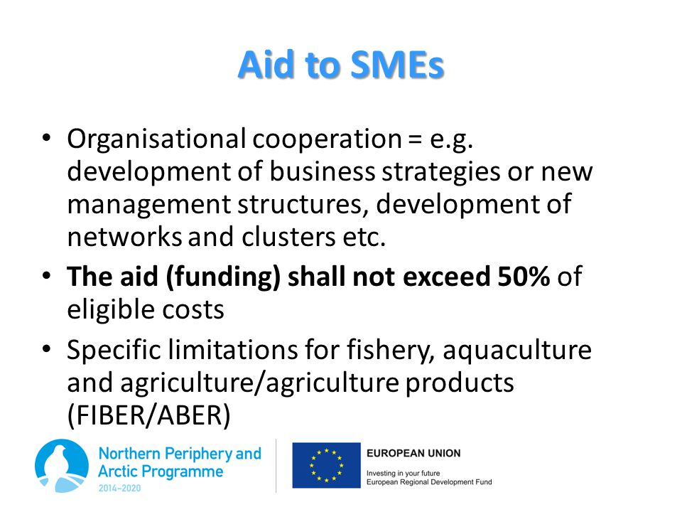 Aid to SMEs