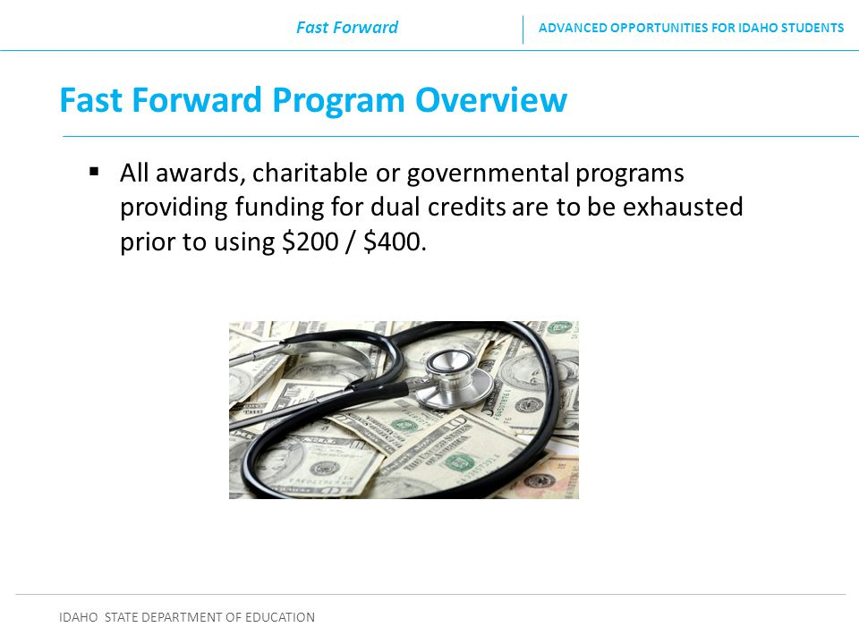Fast Forward Program Overview