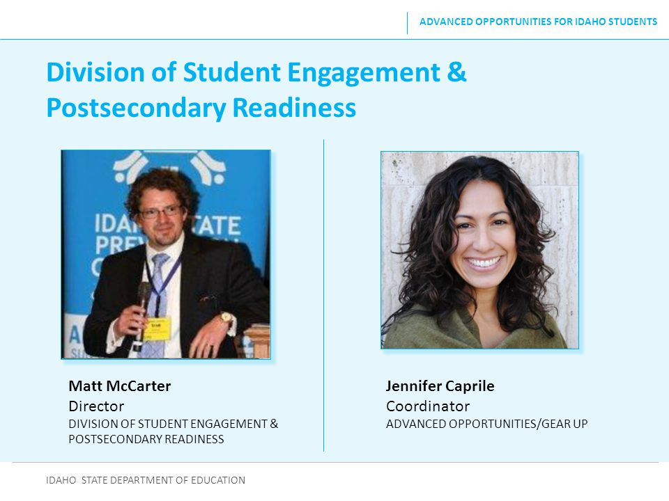 Division of Student Engagement & Postsecondary Readiness