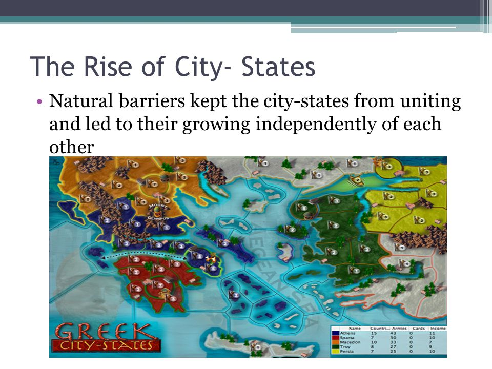 The Rise of City- States