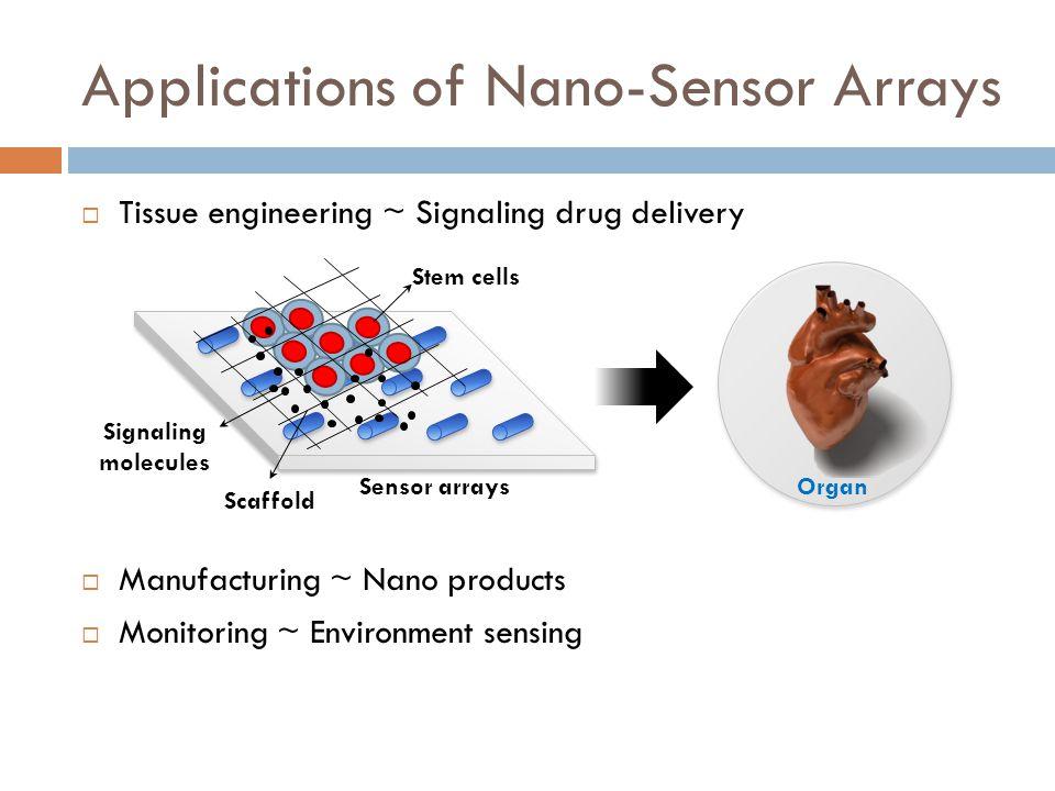 Applications of Nano-Sensor Arrays