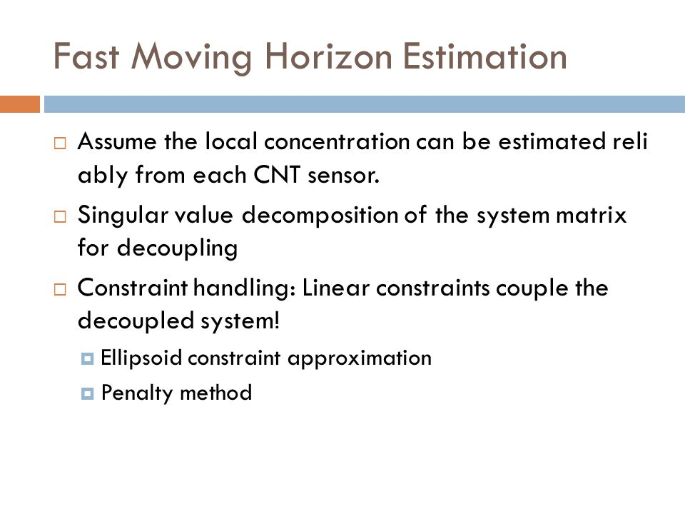 Fast Moving Horizon Estimation