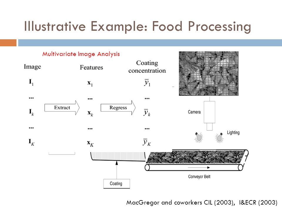 Illustrative Example: Food Processing