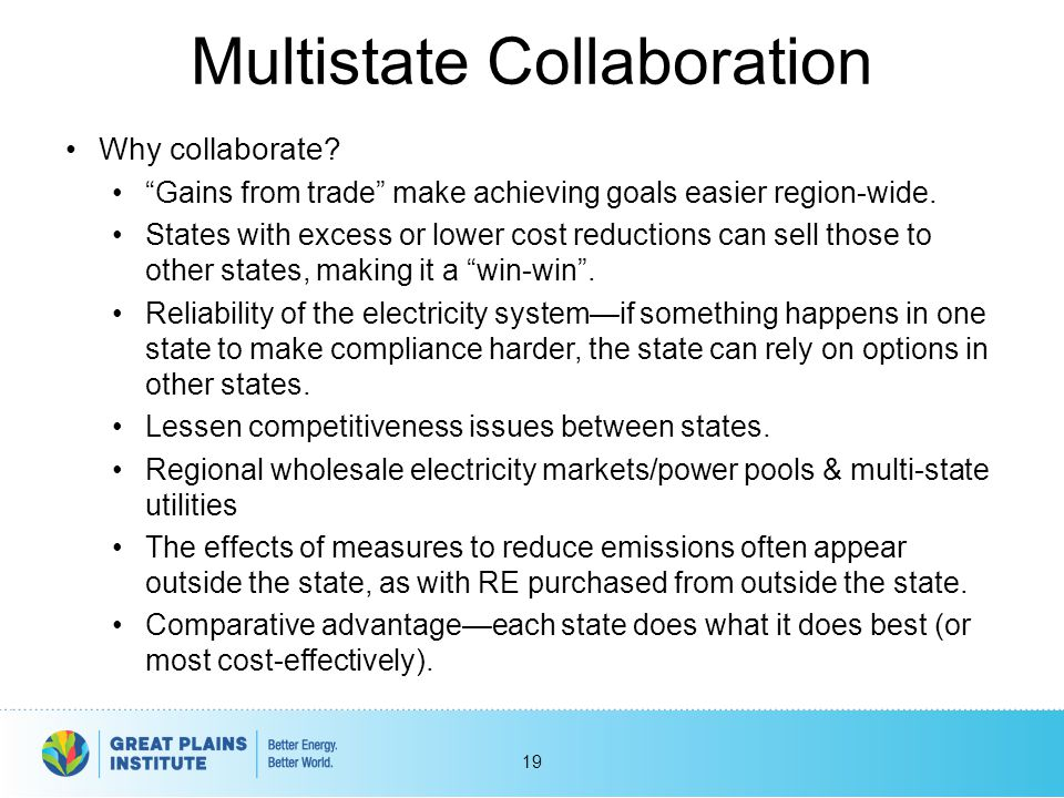 Multistate Collaboration