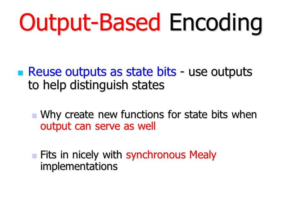 Output-Based Encoding