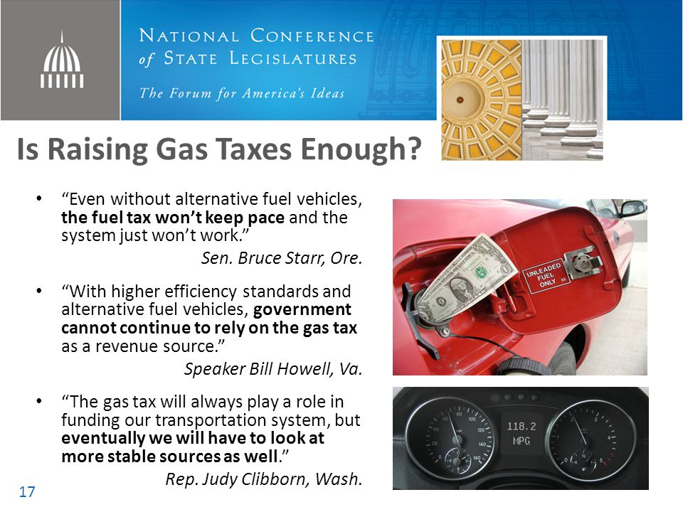 Is Raising Gas Taxes Enough