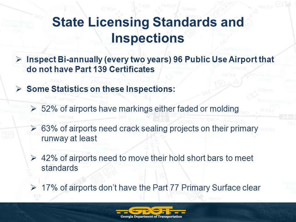 State Licensing Standards and Inspections