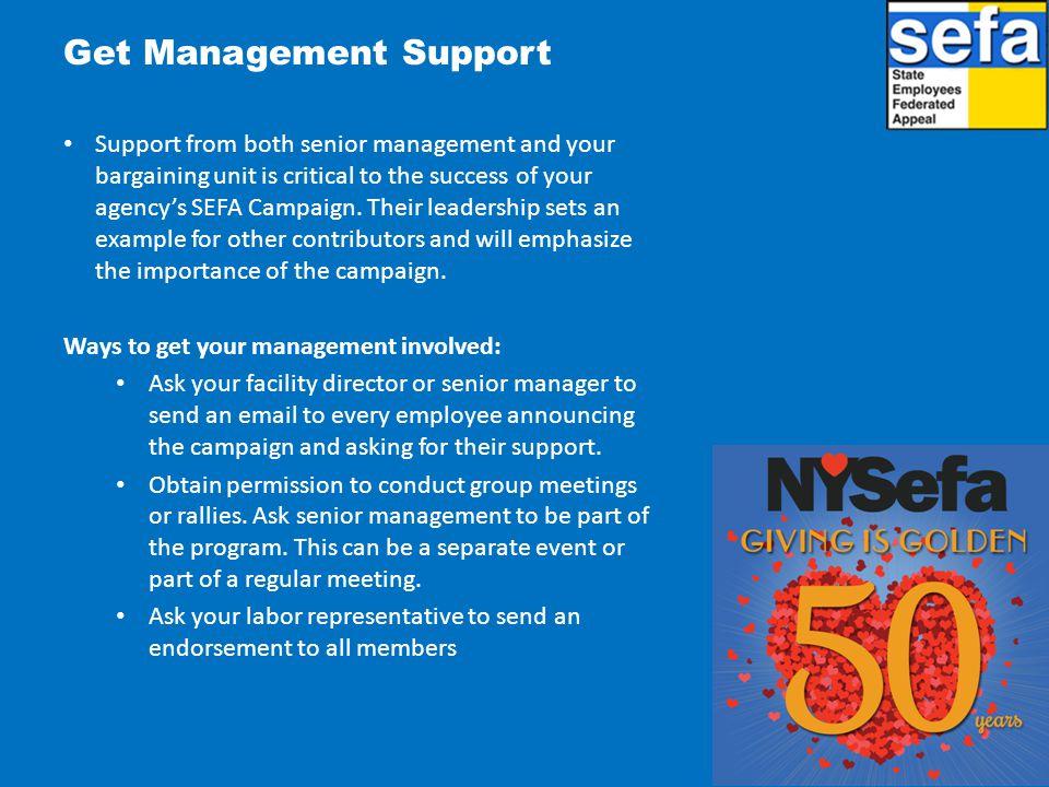 Get Management Support