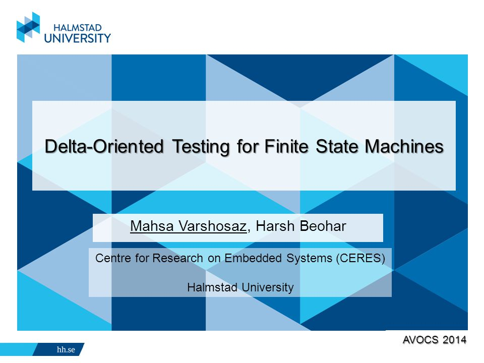 Delta-Oriented Testing for Finite State Machines