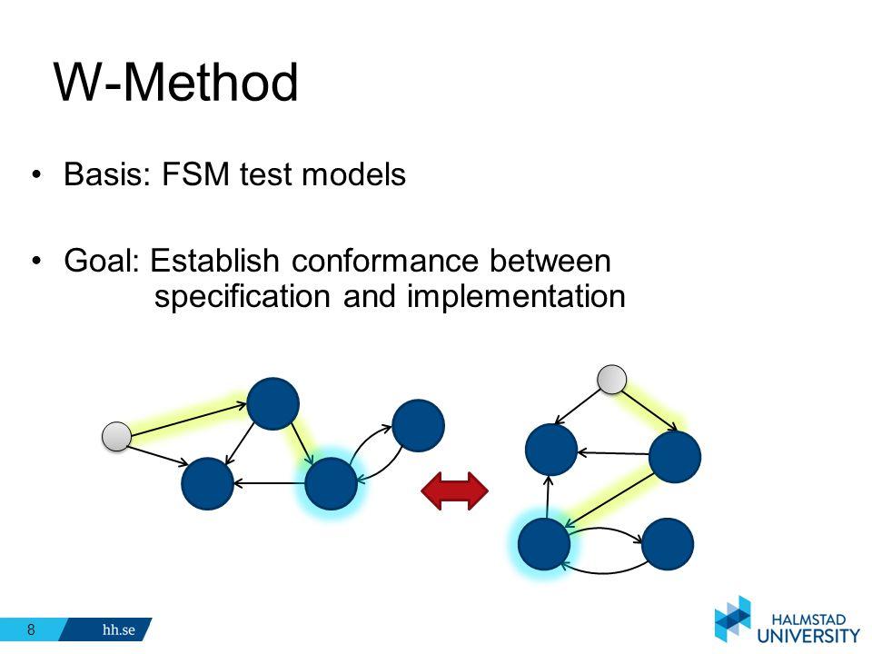 W-Method Basis: FSM test models