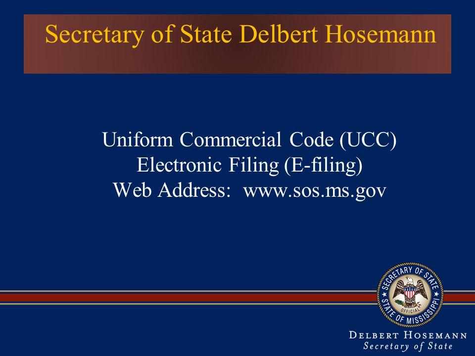 Secretary of State Delbert Hosemann