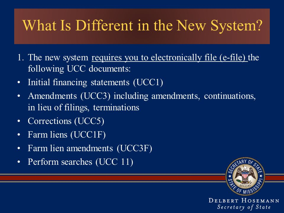 What Is Different in the New System