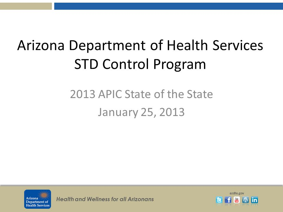 Arizona Department of Health Services STD Control Program