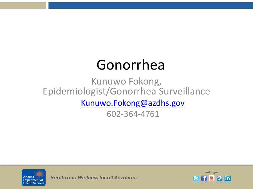 Kunuwo Fokong, Epidemiologist/Gonorrhea Surveillance