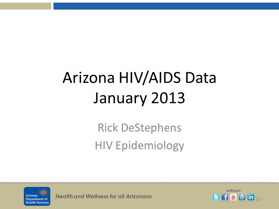 Arizona HIV/AIDS Data January 2013