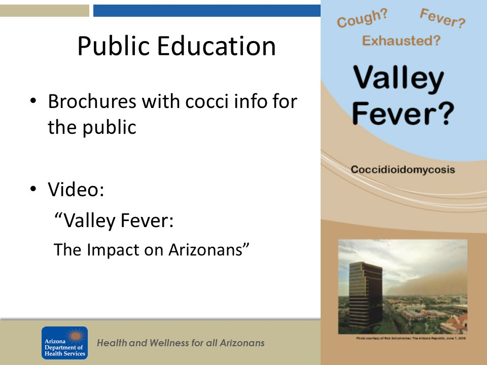 Public Education Brochures with cocci info for the public Video: