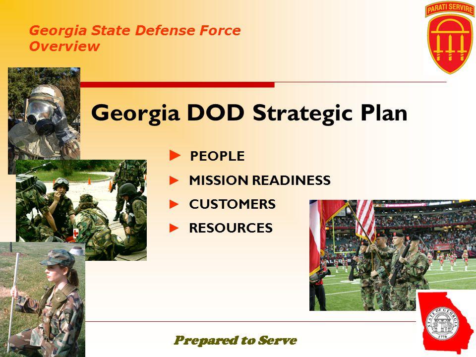 Georgia DOD Strategic Plan