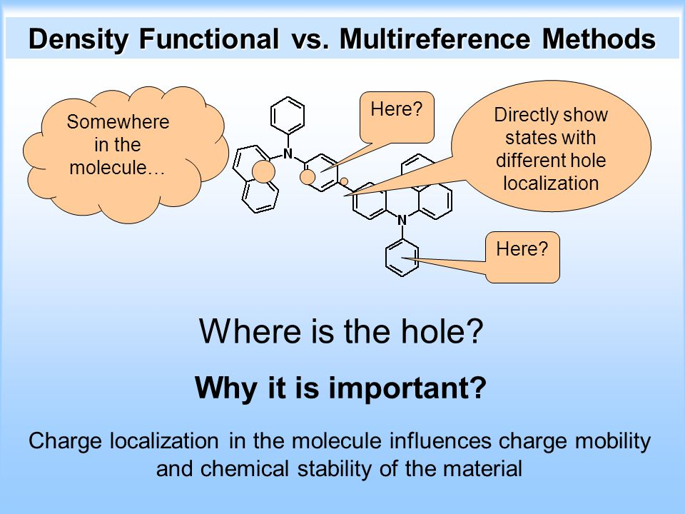 Density Functional vs. Multireference Methods