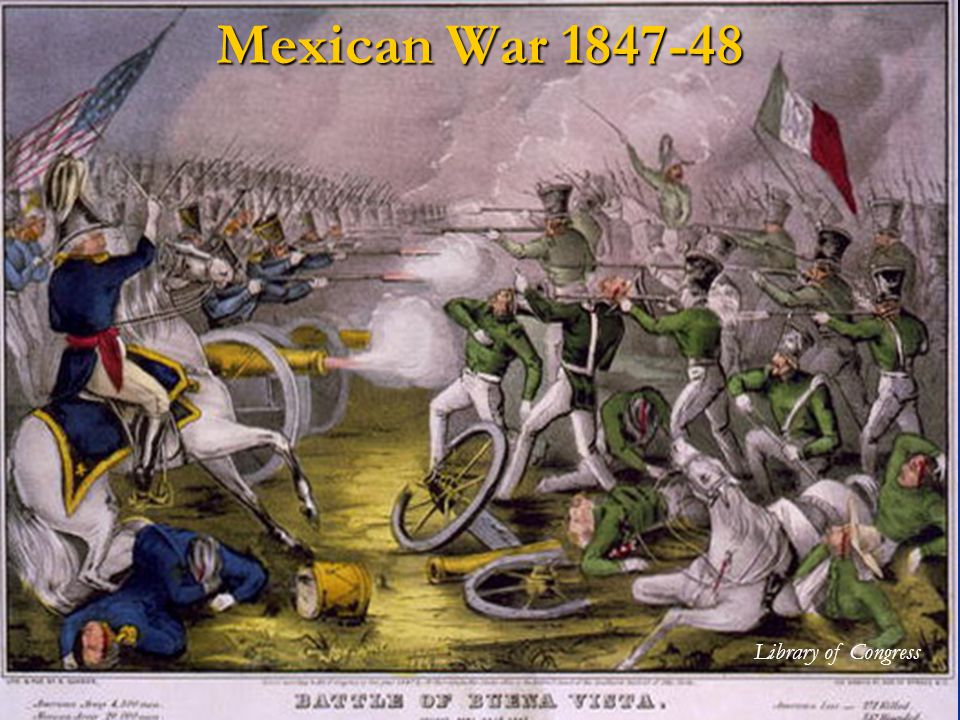Mexican War Library of Congress