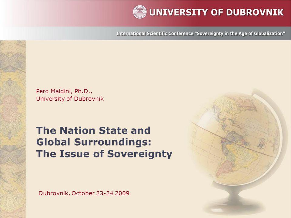 Pero Maldini, Ph.D., University of Dubrovnik