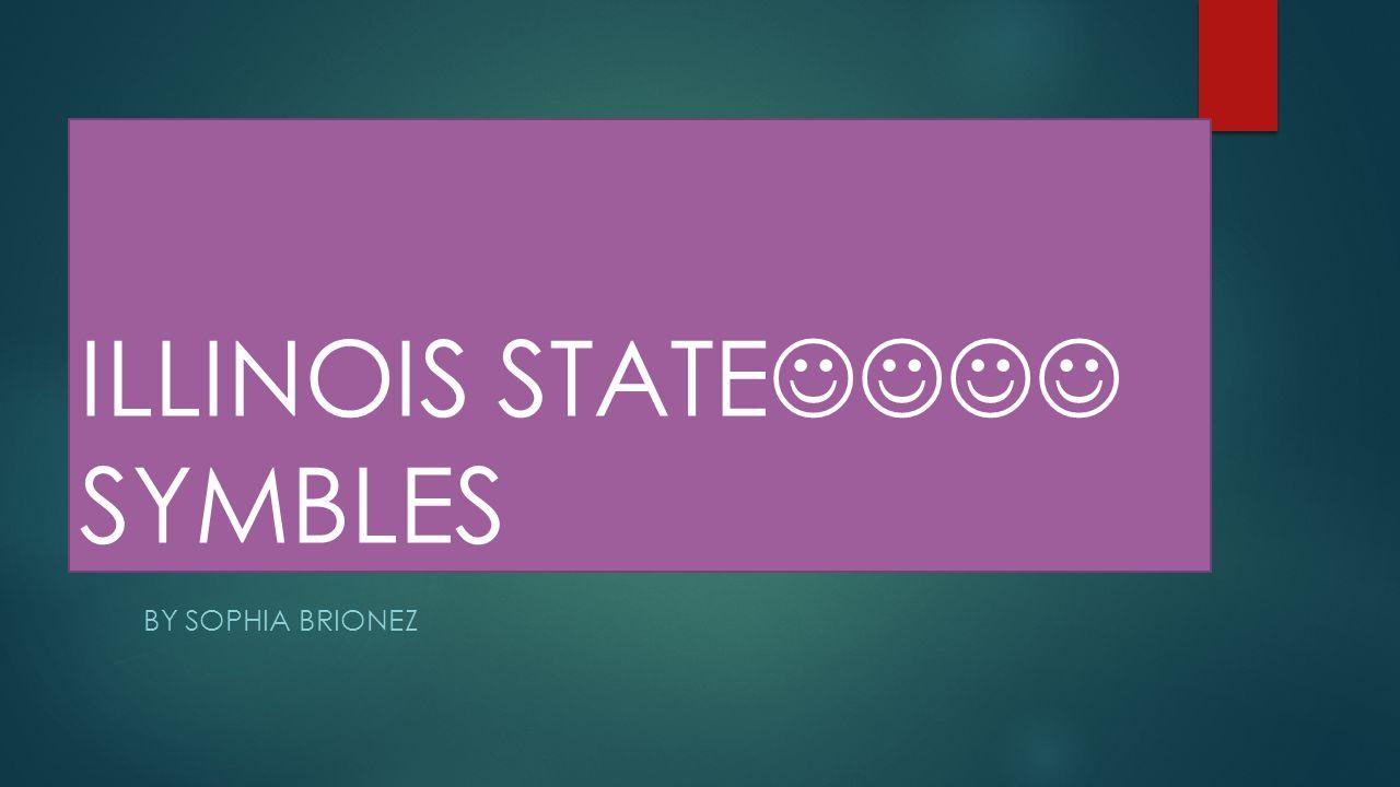 ILLINOIS STATE SYMBLES