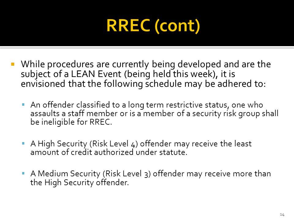 RREC (cont)
