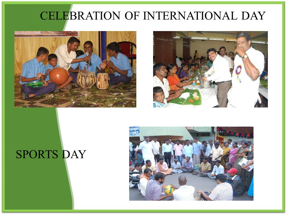 CELEBRATION OF INTERNATIONAL DAY