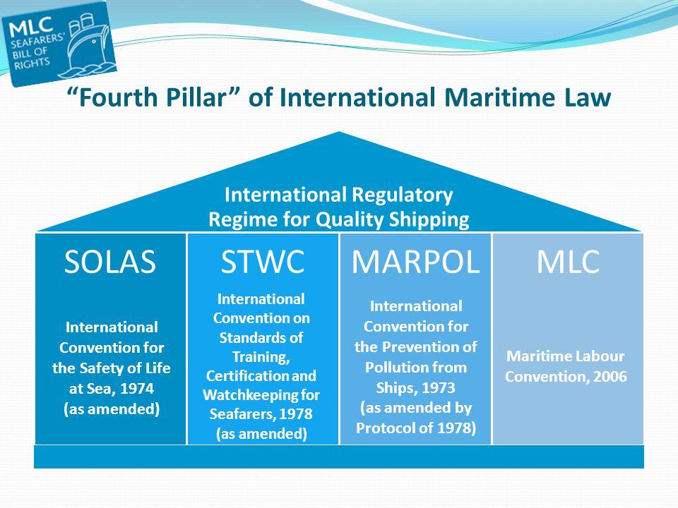 Fourth Pillar of International Maritime Law