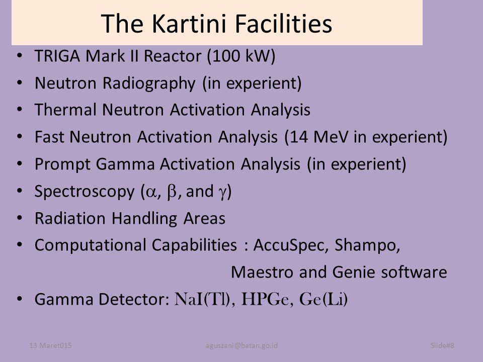 The Kartini Facilities