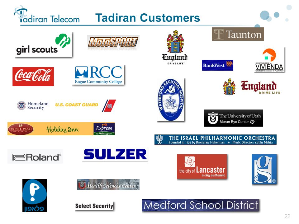 Tadiran Customers