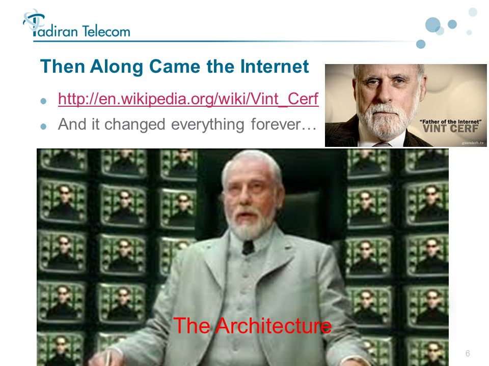 Then Along Came the Internet