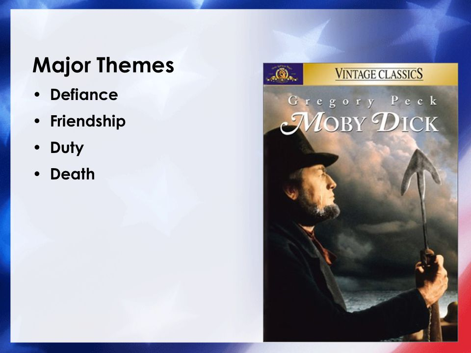 Major Themes Defiance Friendship Duty Death