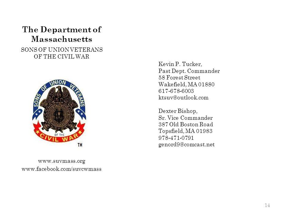 The Department of Massachusetts