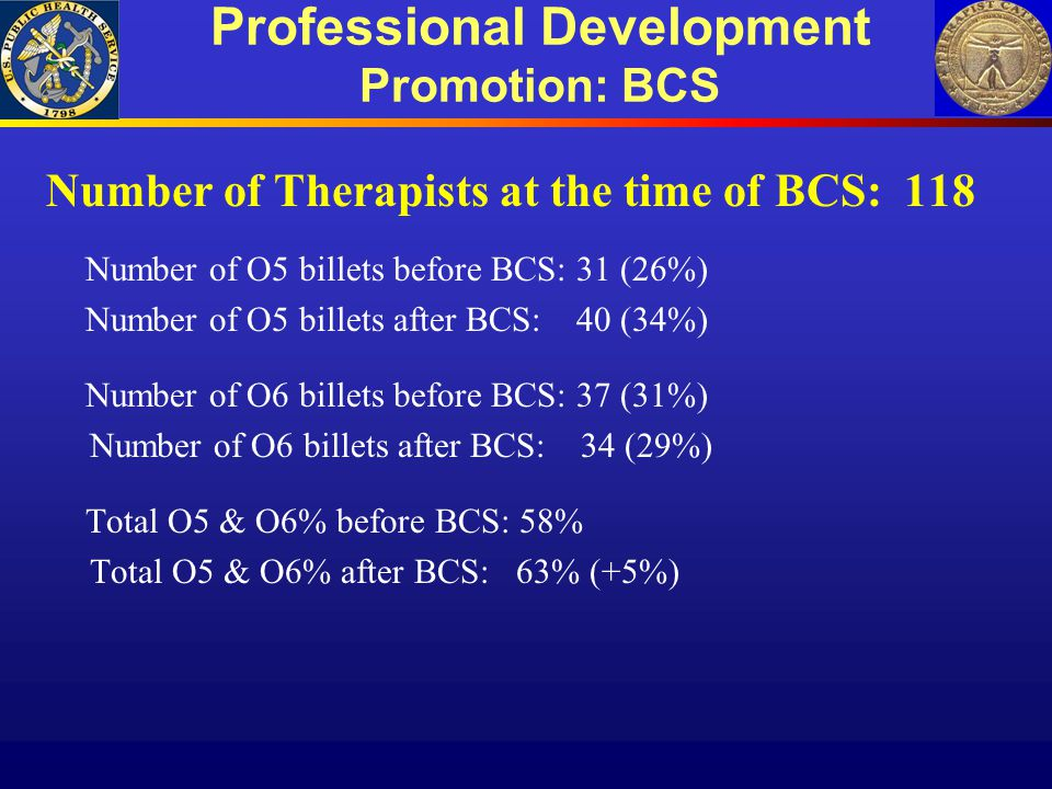 Professional Development Promotion: BCS