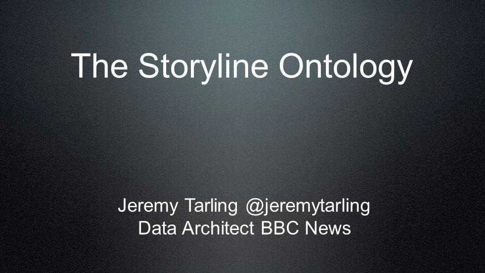 The Storyline Ontology