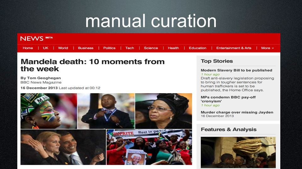 manual curation 29