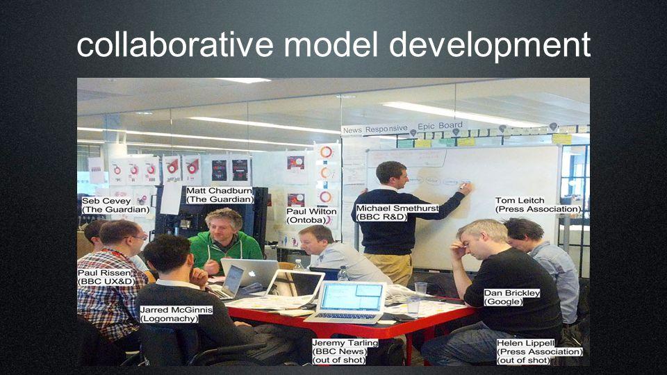 collaborative model development